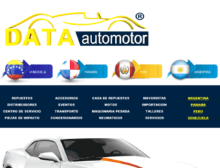 dataautomotor.com screenshot
