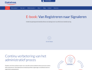databas.nl screenshot