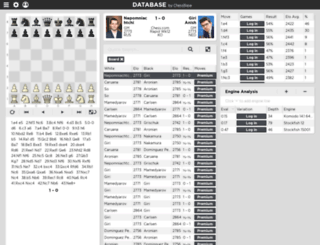 database.chessbase.com screenshot