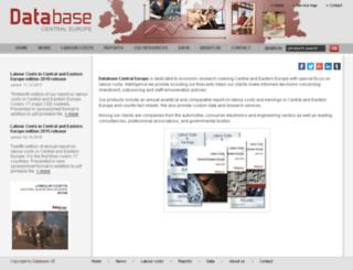 databasece.com screenshot