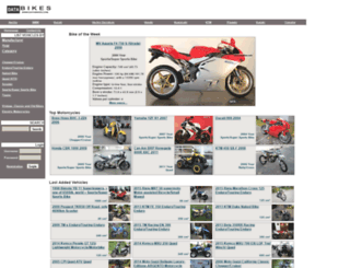 databikes.com screenshot