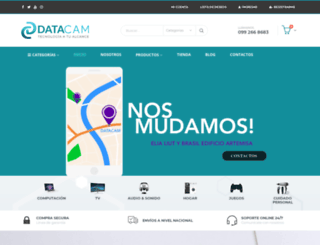 datacam.com.ec screenshot