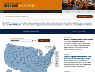 datacenter.kidscount.org screenshot
