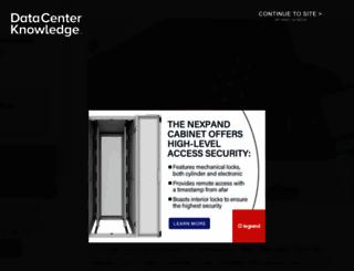datacenterknowledge.com screenshot