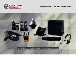 datacomindo.com screenshot