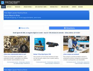 datacraft.com.ar screenshot