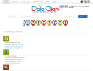 datadiary.com screenshot