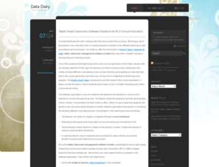 datadiary2012.wordpress.com screenshot