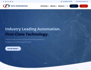 datadimensions.com screenshot