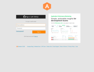 dataeverywhere.airbrake.io screenshot