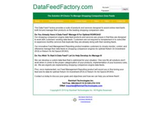 datafeedfactory.com screenshot