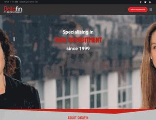 datafin.com screenshot