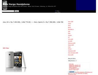 datahargahandphone.blogspot.com screenshot