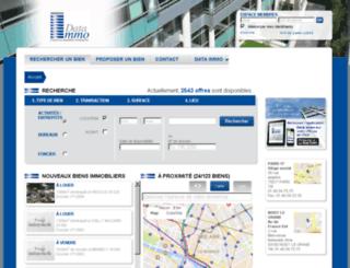 dataimmo.org screenshot