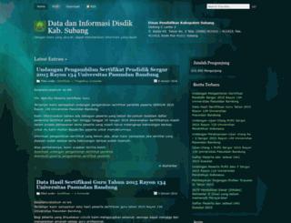 datainformasisbg.wordpress.com screenshot