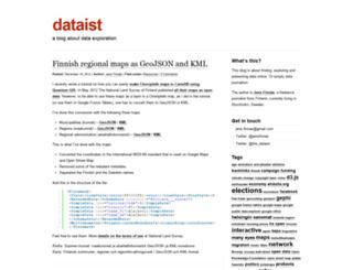 dataist.wordpress.com screenshot