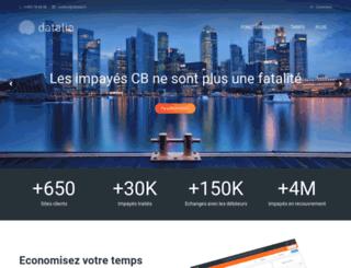 datalia.fr screenshot