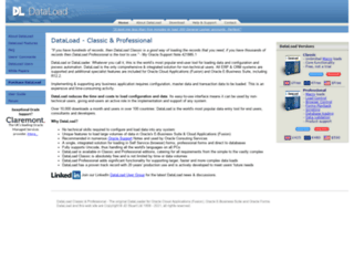 dataload.com screenshot