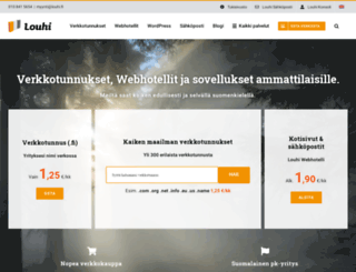 datamappi.fi screenshot
