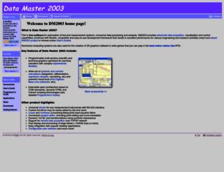 datamaster2003.com screenshot