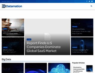datamation.com screenshot