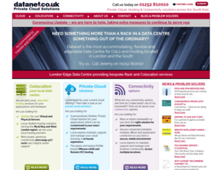 datanet.co.uk screenshot