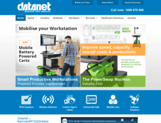datanet.com.au screenshot