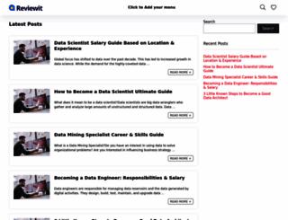 dataphoric.com screenshot