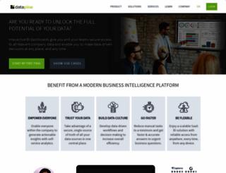 datapine.com screenshot