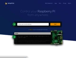 dataplicity.com screenshot