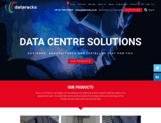 dataracks.com screenshot