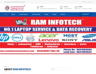 datarecovery.raminfotechvelachery.com screenshot