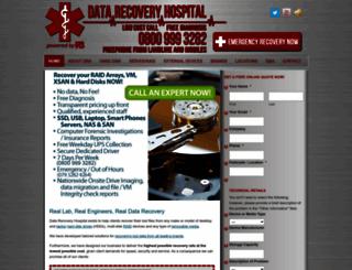 datarecoveryhospital.com screenshot