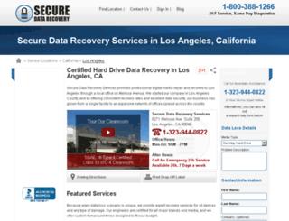 datarecoverylosangeles.net screenshot