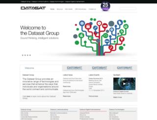 datasatgroup.com screenshot