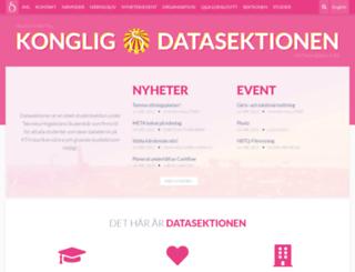 datasektionen.se screenshot