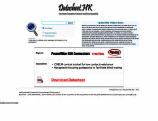 datasheet.hk screenshot