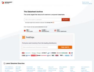 datasheet.net screenshot