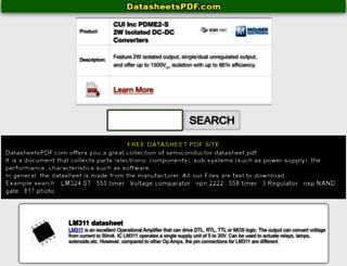 datasheetframe.com screenshot