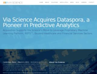 dataspora.com screenshot