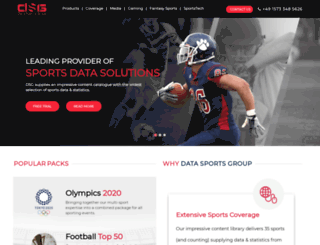 datasportsgroup.com screenshot
