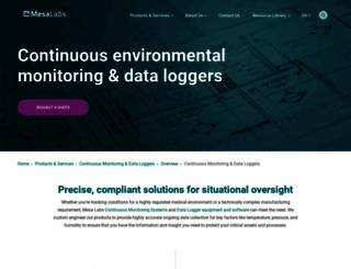 datatrace.mesalabs.com screenshot