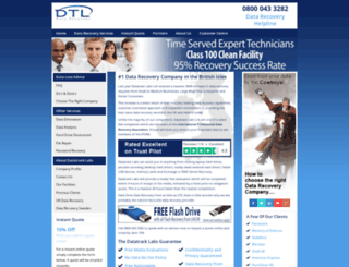 datatrack-labs.co.uk screenshot