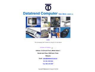 datatrend.com.my screenshot