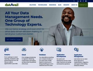 datavail.com screenshot