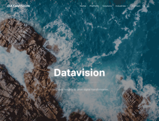 datavision.com.au screenshot