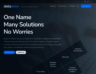 datawise.com.au screenshot