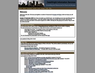 datawright.com.au screenshot
