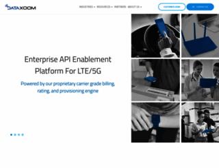 dataxoom.com screenshot