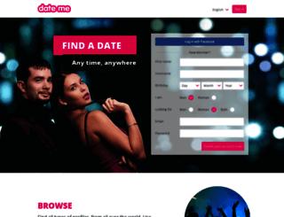 date-me.com screenshot